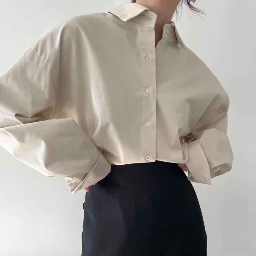 레터 셔츠 [무배.2color]